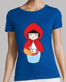 Camiseta Kokeshi Caperucita Roja