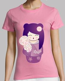 Camiseta Kokeshi mamá