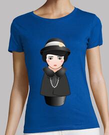 Camiseta Kokeshi Margaret Sanger