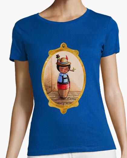 Camiseta Kokeshi Pinocho
