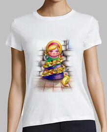 Camiseta Kokeshi Rapunzel