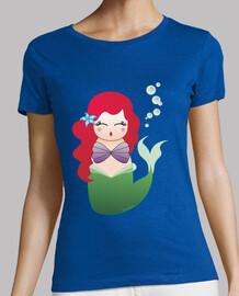 Camiseta Kokeshi Sirenita/Úrsula