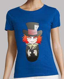 Camiseta Kokeshi Sombrerero Loco