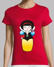 Camiseta Kokeshis Blancanieves
