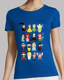 Camiseta Kokeshis de cuento