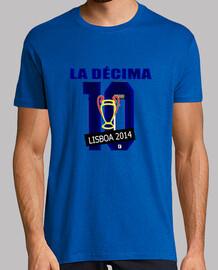 Camiseta La Décima Real Madrid Amarilla