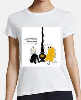 Camiseta La muerte descosida