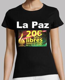 Camiseta la Paz 200 años libres
