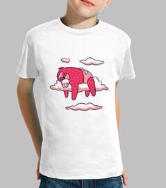 Camiseta la pereza del bebé que duerme
