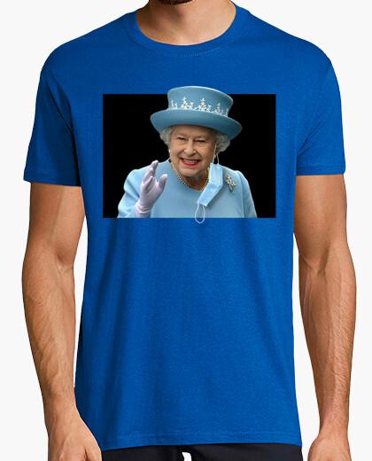 Camiseta La reina de inglaterra sabe lo que se hace