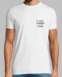 Camiseta La sonrisa es un te quiero..
