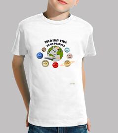 Camiseta La Tierra - planetas