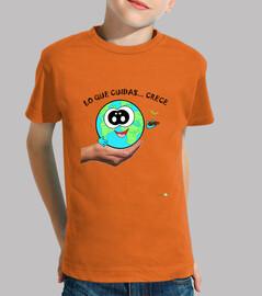 Camiseta La Tierra cuídala