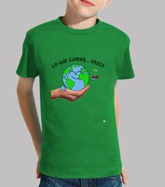 Camiseta La Tierra cuídala 2