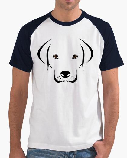 Camiseta Labrador con cara adorable