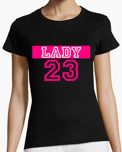 Camiseta Lady 23 - Negra
