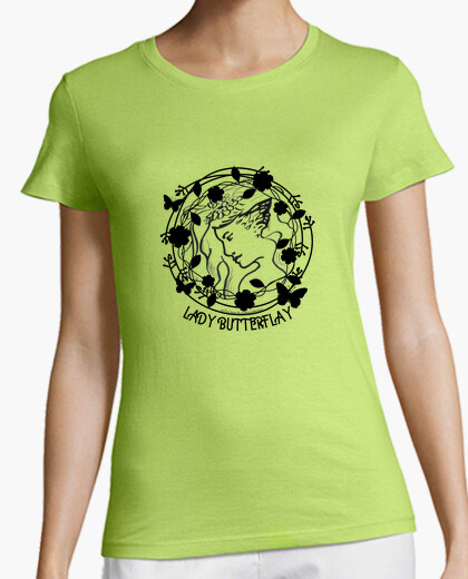 Camiseta Lady butterflay