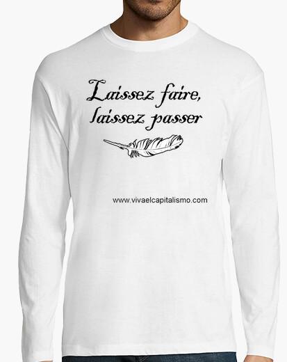 Camiseta Laissez faire CHICO