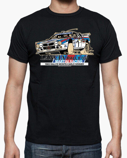 Camiseta LANCIA RALLY 037 Montecarlo edition