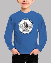 Camiseta Larga Aventura en Familia Garma Lobo