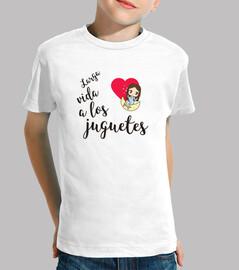 ¡Camiseta Larga Vida a los Juguetes!