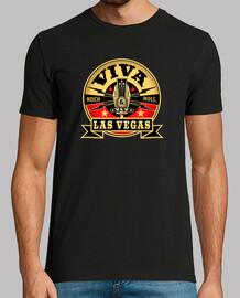 Camiseta Las vegas rock and roll