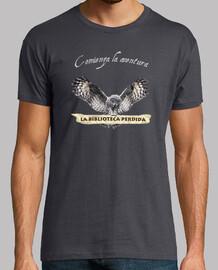 Camiseta LBP - Hombre, manga corta, gris