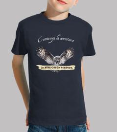 Camiseta LBP Niño - manga corta, azul marino