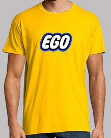 camiseta lego ego, amarillo chico