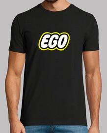 camiseta lego ego, negro chico