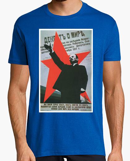 Camiseta Lenin Retro Comunista