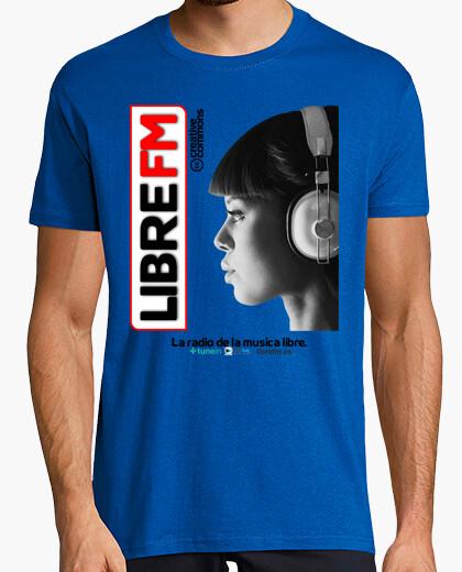 Camiseta Libre FM Face