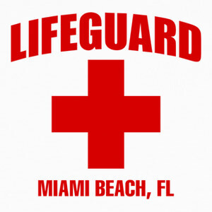 Tee-shirts Camiseta Lifeguard mod.01