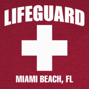 Tee-shirts Camiseta Lifeguard mod.02
