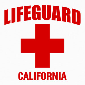 Tee-shirts Camiseta Lifeguard mod.03