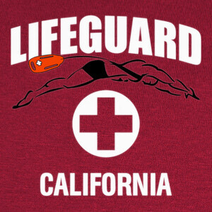Tee-shirts Camiseta Lifeguard mod.10