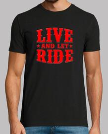 camiseta live and let fahrt