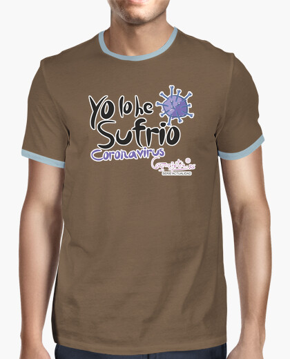 Camiseta LO HE SUFRIO relieve by Carajote