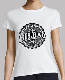 Camiseta 'Logo' Blanca (Chica)
