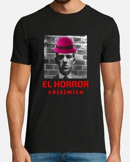 Camiseta logo El horror cósmico sin fondo