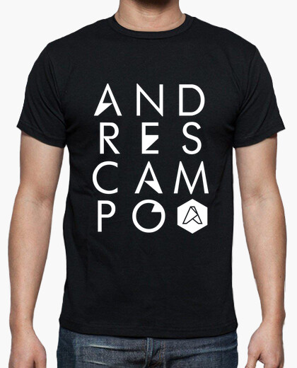Camiseta Logo Letters Andres Campo