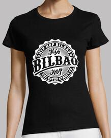 Camiseta 'Logo' Negra (Chica)