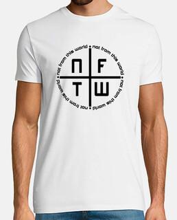 Camiseta Logo NFTW blanca hombre