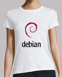 Camiseta Logotipo Debian Oficial