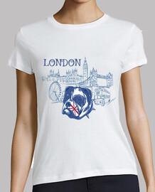 Camiseta London Bulldog Ingles England