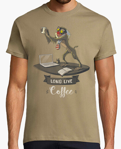 Camiseta Long Live Coffee