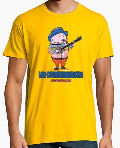Camiseta Los Countrybandistas CALLEJERA 2013