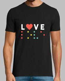 Camiseta Love Braile