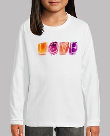 Camiseta LOVE M/L