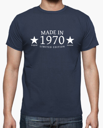 Camiseta Made in 1970 Limited Edition